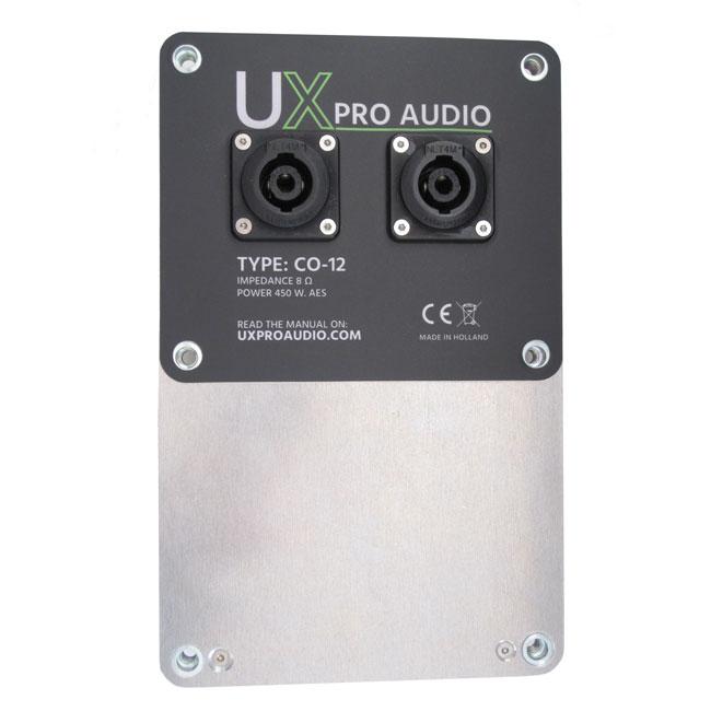 UX Pro Audio CO-12 connection panel